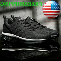 Men's Air Cushion Running Sneakers Athletic Fitness Lightwei