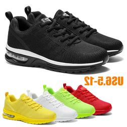 Men's Air Cushion Sneakers Casual Sports Trainers Running Te