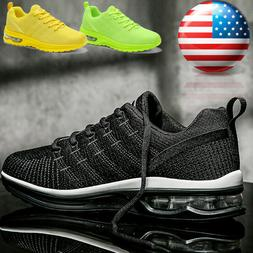 Men's Air Cushion Sneakers Gym Sports Lightweight Walking At