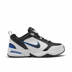 Men's Nike Air Monarch IV Training Shoes Black/Black/White 4