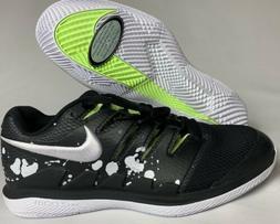 Men's Nike Air Zoom Vapor X HC  Black Tennis Shoes - Size 10