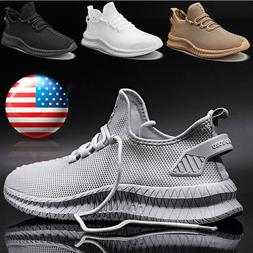 Men's Athletic Running Shoes Gym Running Sports Tennis Sneak