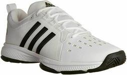 adidas Men's Barricade Classic Bounce Tennis Shoe, White/Bla