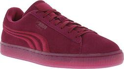 Puma Men's Classic Badge Iced Suede Ankle-High Fashion Sneak