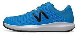 New Balance Men's Clay Court 696v4 Tennis Shoes Blue with Bl