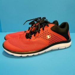 Champion Men's FlexFoam Tennis Shoes Size 11.5 Red White Lac