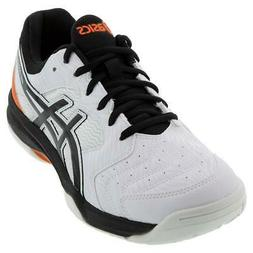 ASICS   Men`s GEL-Dedicate 6 Tennis Shoes White and Black