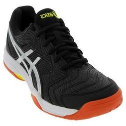 ASICS   Men`s GEL-Dedicate 6 Tennis Shoes Black and Silver