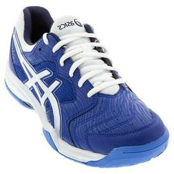 Asics Men`s GEL-Dedicate 6 Tennis Shoes ASICS Blue and White