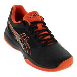 ASICS   Men`s Gel-Game 7 Tennis Shoes Black and Cherry Tomat