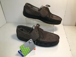 Crocs  Men's  Lace Up Tennis Shoes Sneakers Sz 12M Leather V