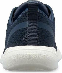 Crocs Men's LiteRide Mesh Lace-Up Sneaker, Navy/White, Size