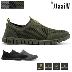 Men's Mesh Athletic Sneakers Breathable Sport Hiking Climbin