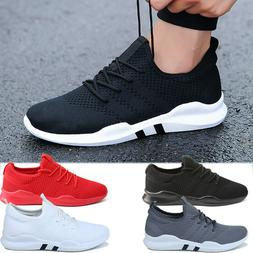 Men's Non Slip Sneakers Breathable Athletic Running Walking