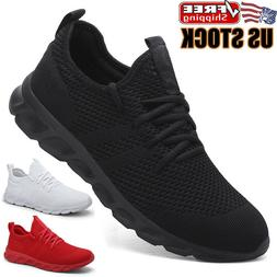 men s running shoes breathable athletic casual