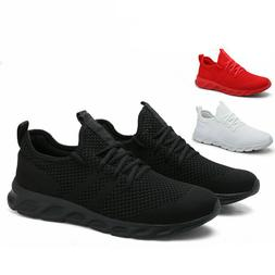 Men's Running Tennis Shoes Fashion Breathable Lightweight Sp
