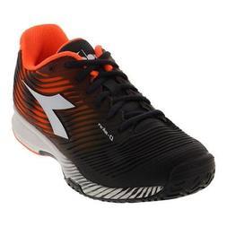 DIADORA - Men`s S Competition 4 Ag Tennis Shoes Orange and B