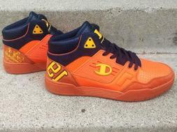 Champion Men's Sneakers tennis shoes, orange, sz 9, new no b