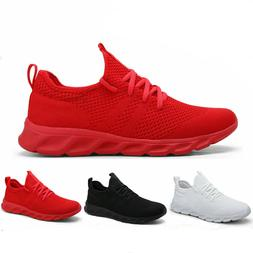 Men's Sports Sneakers Outdoor Breathable Running Casual Athl