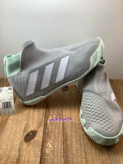 Adidas Men's Stycon Tennis Shoes Gray Two and White sizes 8,