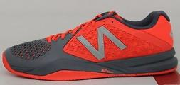 Men's New Balance Tennis 996 V2 MC996MF2 Grey/Orange Size 14