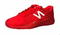New Balance Men's Tennis Athletic Shoes Flame Red Size 10.5