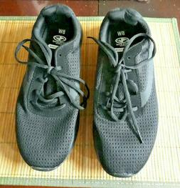Men's Tennis Casual Athletic Works Black Shoes New  - US Siz