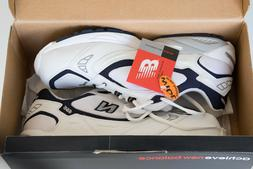 New Balance men's tennis shoes, New, white canvas leather si