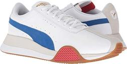 PUMA Men's Turin_0 Puma White/Turkish Sea 7 D US