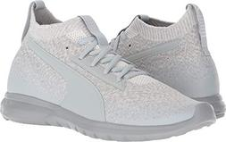 PUMA Men's Vigor Evoknit FS Quarry/Puma White 8.5 D US