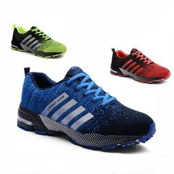 Men's Women Running Lightweight Tennis Shoes Athletic Fashio