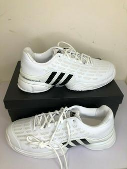 Mens Adidas Barricade 2016 Grass Tennis Shoes Size 12.5 Whit