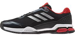 Mens Adidas Barricade Club Black Athletic Sport Tennis Shoes