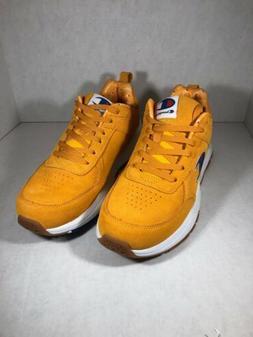 Champion Mens #cm100107m Gold Tennis Shoes Size 9