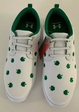 Under Armour Mens Critter Encounter IV Tennis Shoes Shamrock