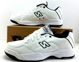 Mens CT520W New Balance White Canvas Tennis Shoes Size 10 1/