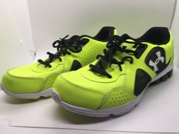 Under Armour Mens Fluorescent Athletic Shoes Size 11