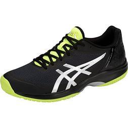 mens gel court speed tennis shoe black