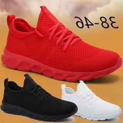 Mens Fashion Lightweight Tennis Shoes Casual Running Jogging