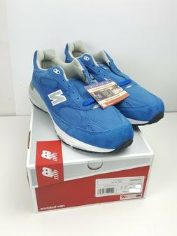 New Balance Mens Size 11.5 D 993 Shoes Smurf Blue Suede US99