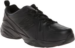 New Balance Men's MX608v4 Training Shoe, Black, 9.5 D US