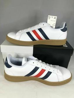 NEW adidas Men`s Grand Court EE7888 Tennis Shoes Free Shippi