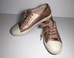 New American Eagle Sz 9 Rose Gold Sneakers Tennis Shoes