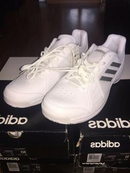 New Adidas Approach Cloudfoam Triple White Grey B96525 Sz 12