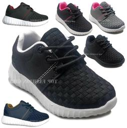 New Baby Boys Girls Toddler Mesh Sneaker Sporty Lace Up Tenn