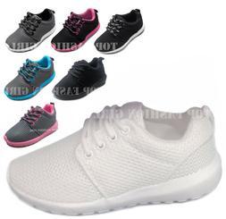 NEW Kids Boys Girls Mesh Sneaker Lace Up Sporty Tennis Shoe