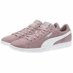 *NEW* PUMA Ladies' Vikky Suede Shoes Elderberry PurPle Pink