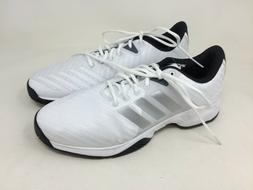 New!! Men's adidas CM7817 -2E Barricade Court 3 Wide Tennis