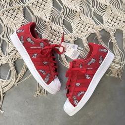 New Adidas Original Superstar The Farm Pineapple Sneakers Te
