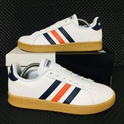 *NEW* Adidas Originals Grand Court Men Athletic Sneakers Whi